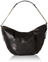 Halston Leather Hobo