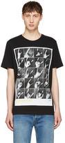 Diesel Black T-Joe-QR T-Shirt