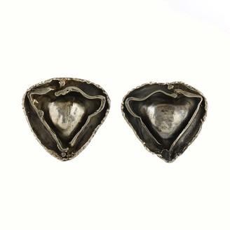 Stavros Constantinou Silver Pod Earrings 1