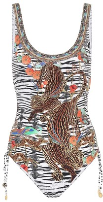 Camilla Animal-print swimsuit