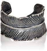 M. Cohen Men's Feather Cuff Ring