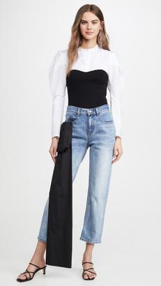 Hellessy Gresham Jeans with Sash