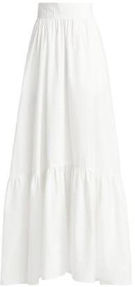 A.L.C. Flounce Hem Maxi Skirt