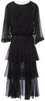 Valentino Garavani Black Silk Dresses