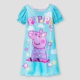 Peppa Pig Toddler Girls' Swing Nightgown - Blue