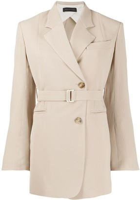 Eudon Choi Double Breasted Belted Blazer