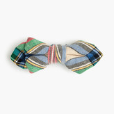 J.Crew Boys' cotton bow tie inholiday plaid