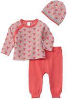 Petit Lem Girls' Baby 3Pc Cardigan Set