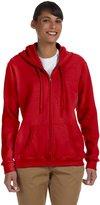 Gildan Heavy Blend Ladies' 13.3 oz., 50/50 Full-Zip Hood M
