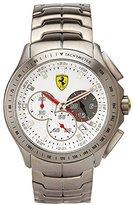 Ferrari Scuderia Chronograph Mens Watch - Stainless Steel