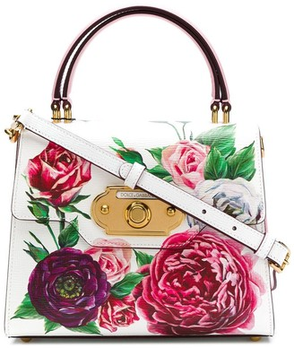Dolce & Gabbana Welcome floral-print tote