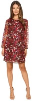 Just Cavalli Pansy Embroidered Sheath Dress Women's Dress