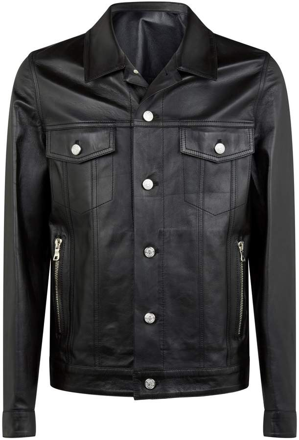 cbb7f175 Balmain Women's Leather Jackets - ShopStyle