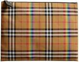 Burberry Large Rainbow Vintage Check Pouch