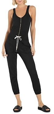n:philanthropy Griffith Zippered Drawstring-Waist Jumpsuit