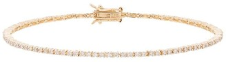 Mateo 14K yellow gold diamond tennis bracelet