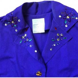 Emmanuelle Khanh Purple Cotton Jacket for Women