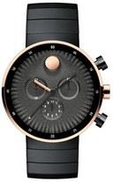 Movado 'Edge' Chronograph Bracelet Watch, 40Mm