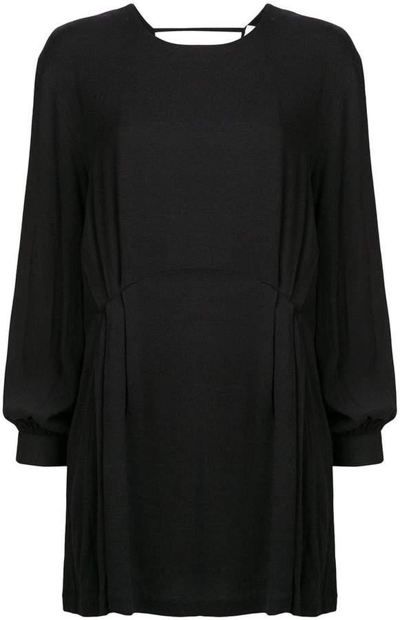 IRO open back flared dress
