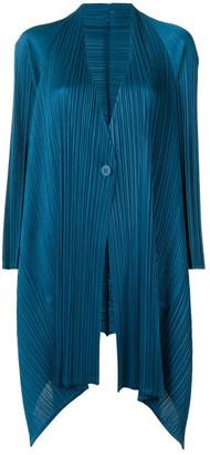 Pleats Please Issey Miyake Asymmetrical Jacket