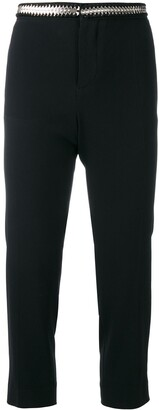 DSQUARED2 Metallic Coin-Embroidered Trousers