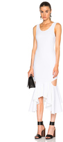 Givenchy Asymmetrical Dress with Slashes
