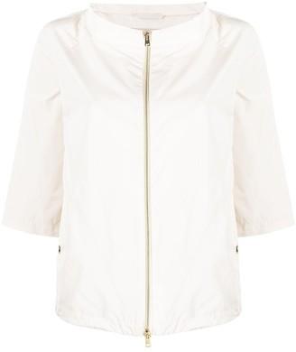 Herno Cape-Style Lightweight Jacket