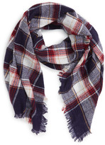 Madewell Range Plaid Wool Scarf