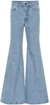 Matthew Adams Dolan Mid-rise bootcut jeans