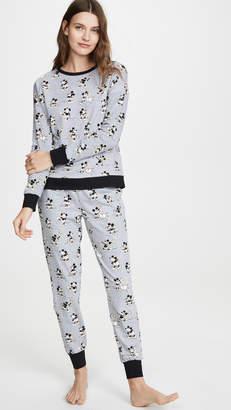 Bedhead Pajamas x Disney© Vintage Mickey Jogger PJ Set