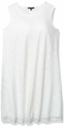 Tiana B T I A N A B. Women's Sleeveless Lace Trapeze Dress