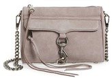 Rebecca Minkoff Mini MAC Nubuck Convertible Crossbody Bag - Purple