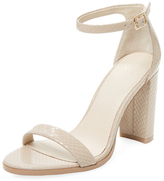 High Heel Ankle-Wrap Sandal