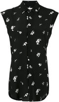 Golden Goose Deluxe Brand floral sleeveless shirt - women - Silk - S