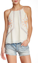 Blu Pepper Embroidered Tank