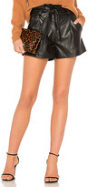 David Lerner Paperbag Belted Short