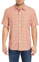 Tommy Bahama Men's Checka Colada Original Fit Short Sleeve Sport Shirt