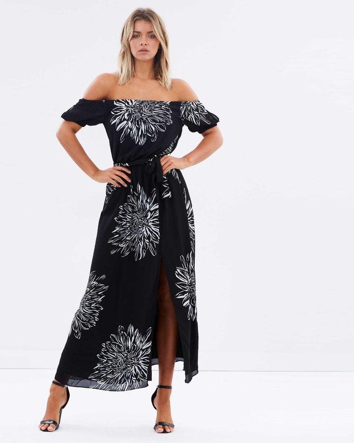Cynthia Off-Shoulder Maxi Dress