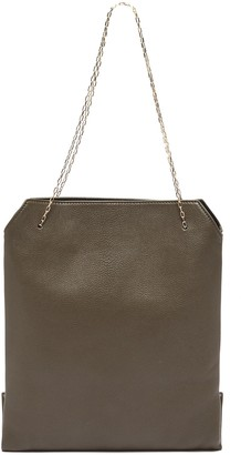 The Row Chain strap small leather lunch bag