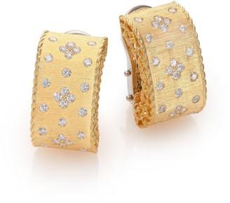 Roberto Coin Princess Diamond & 18K Yellow Gold Drop Earrings
