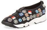 Christian Dior Beaded Mesh Slip-On Sneaker