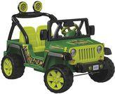 Fisher-Price Power Wheels Teenage Mutant Ninja Turtles Jeep Wrangler by
