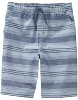Crazy 8 Stripe Pull-On Shorts