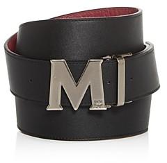 MCM Men's Claus M Reversible Leather Belt