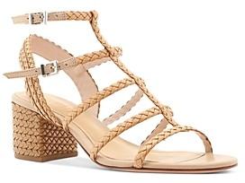 Schutz Women's Clarcie Strappy Mid Heel Sandals