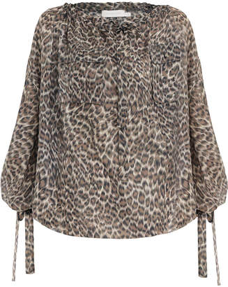 Zimmermann Suraya Silk Pocket Top