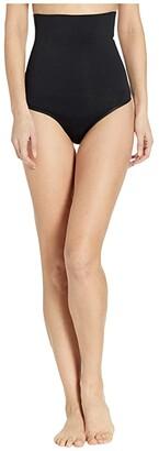 Yummie Cooling Effects High-Waist Thong (Black) Women's Underwear