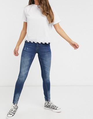 JDY LIFE skinny jeans in blue