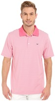 Vineyard Vines Planters Stripe Performance Polo
