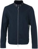 Emporio Armani contrast collar zip jacket